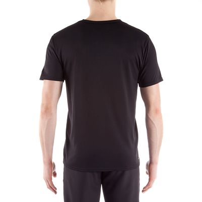 T-shirt ENERGY fitness homme noir