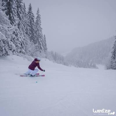 Casque de ski et de snowboard adulte H 300 blanc.