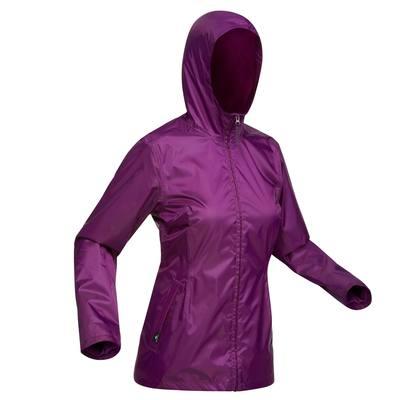 Veste de randonnée neige femme SH100 chaude Violet