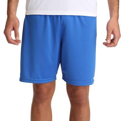 Short  football adulte F100 bleu