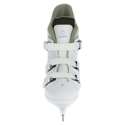 Patins à glace Femme FIT 1 blanc