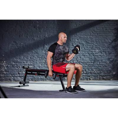 Banc De Musculation 500 Pliable Et Inclinable Clubs