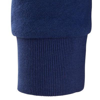 Sweat col rond musculation homme bleu foncé