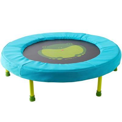 Mini trampoline baby gym