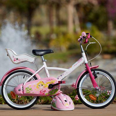 VELO ENFANT 16POUCES LILOO PRINCESS BLANC/ROSE