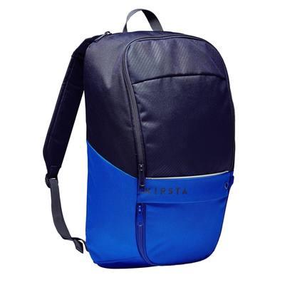 Sac à dos de sports collectifs Classic 17 litres bleu noir, bleu indigo
