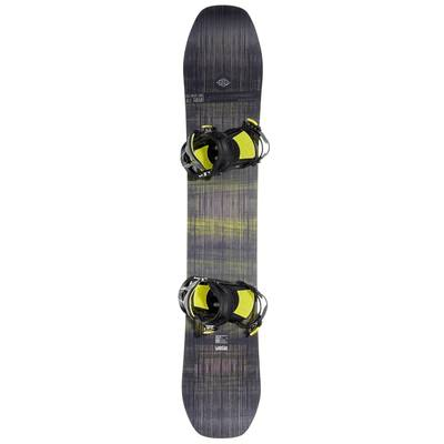 Pack snowboard all mountain homme Bullwhip 500 All Road gris et jaune
