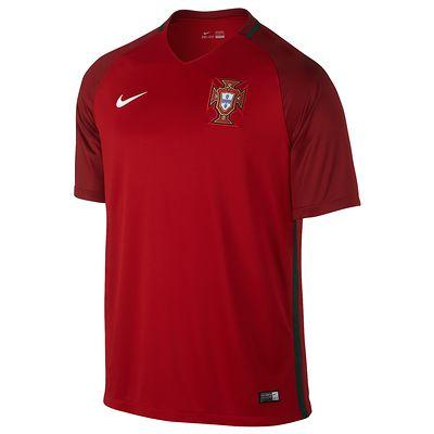Maillot football adulte réplique Portugal domicile rouge  XL