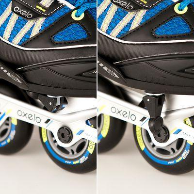 Roller fitness enfant Fit 5 Jr bleu/noir