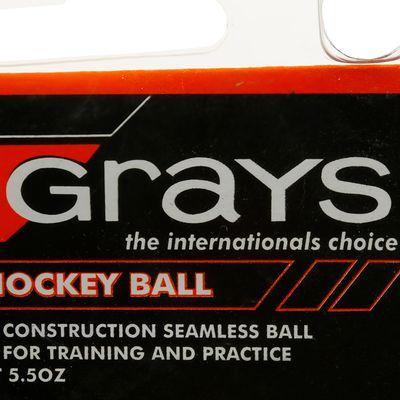 Balle hockey sur gazon Club training blanc