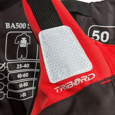 GILET DE SAUVETAGE TRIBORD BA500 70N
