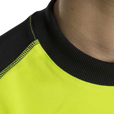 Maillot gardien football enfant F300 jaune noir