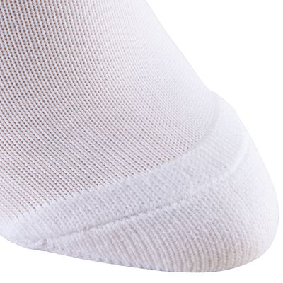 CHAUSSETTES FOOTBALL F300 JUNIOR BLANC