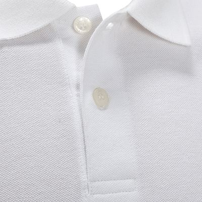 POLO GOLF HOMME 100 BLANC
