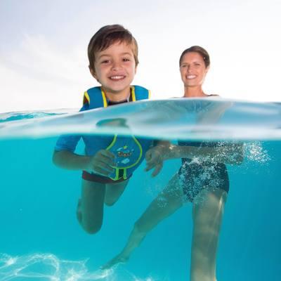 Gilet de natation basic bleu