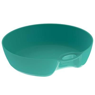 Assiette creuse camp du randonneur MH100 plastique vert (0,5 litre)