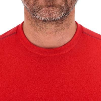 Polaire randonnée homme Forclaz 20 rouge