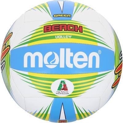 Ballon de beach-volley Shade vert et blanc
