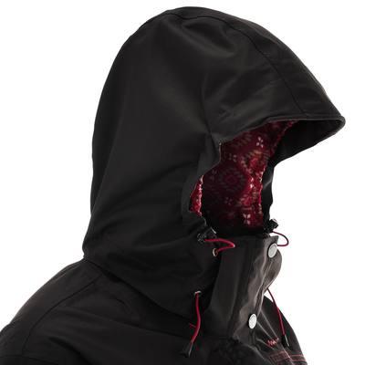 Veste trekking Rainwarm 300 3en1 femme noir