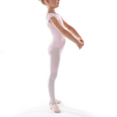 Justaucorps manches courtes de danse classique fille rose - Clubs ... 1d1a50f3903