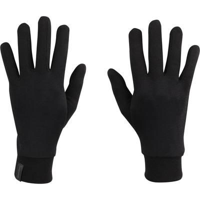 Sous-gants Forclaz 100 soie adulte noirs