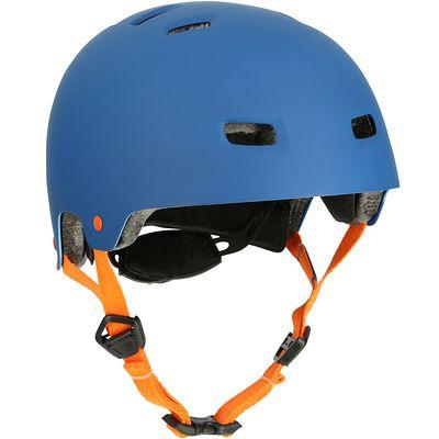 Casque roller skateboard trottinette vélo MF 7 bleu