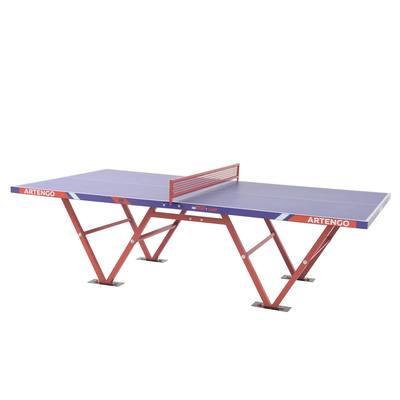 TABLE DE PING PONG POUR COLLECTIVITES ARTENGO  FT800 CAMP