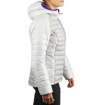 Doudoune randonnée femme X-Light 1 gris clair