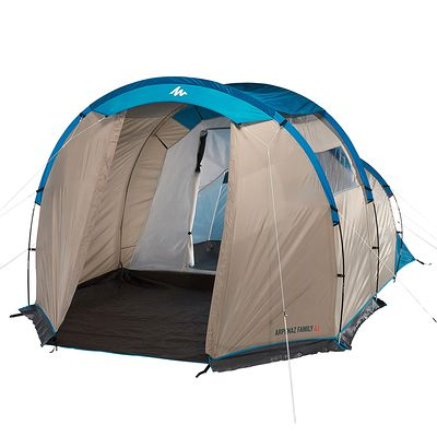 Tente de camping familiale arpenaz 4.1 | 4 personnes 1 chambre