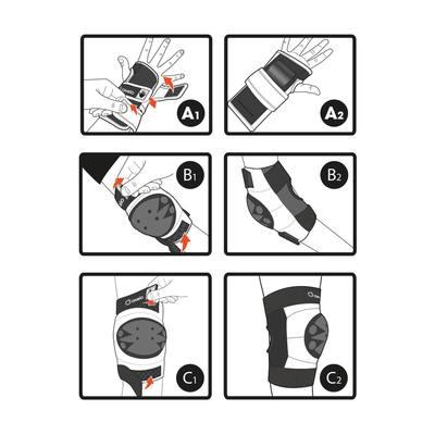 SET DE 3 PROTECTIONS