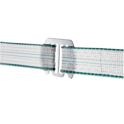 Raccords conducteurs pour clôture équitation rubans jusqu'à 40mm x5