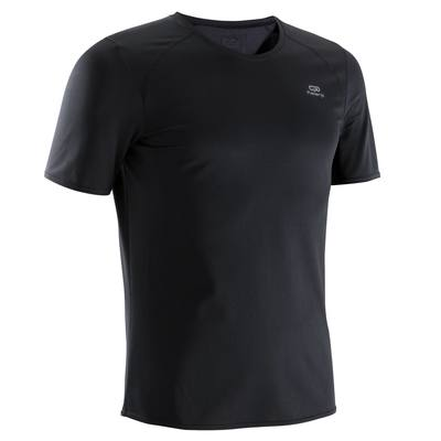 TEE SHIRT RUNNING HOMME RUN DRY NOIR