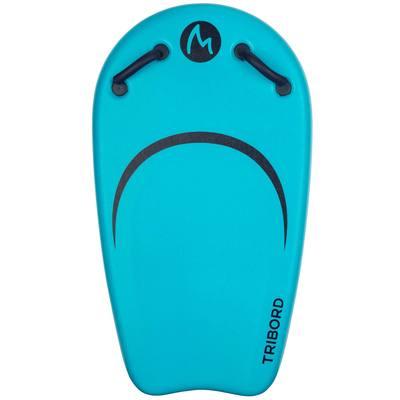 Bodyboard junior BODYATU M bleu livré avec un leash