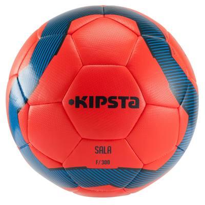 Ballon football Futsal  300 taille 58 cm rouge