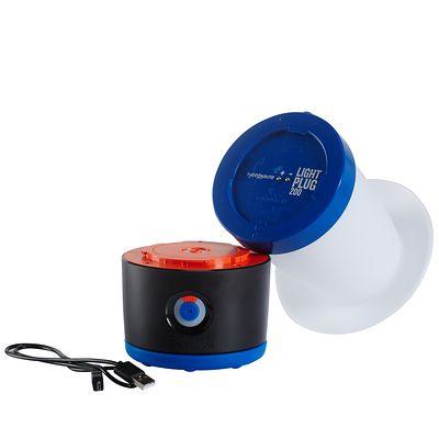 Eclairage randonnée lampe bl200 rechargeable bleu