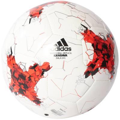 Ballon futsal Confed Sala blanc rouge