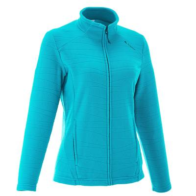 Polaire randonnée femme Forclaz 200 bleu clair