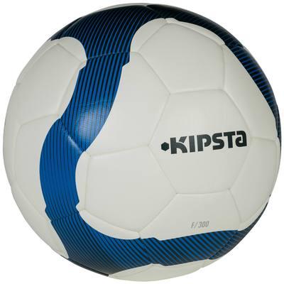 Ballon football F300 hybride taille 4 blanc