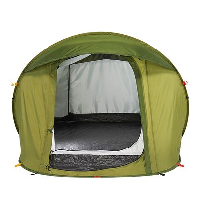 Tente camping 2 seconds EASY 1 vert - 1 personne
