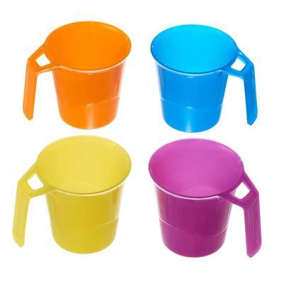 Ustensiles randonnée mug pack de 4