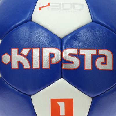 Ballon handball enfant H300 taille 1 bleu blanc