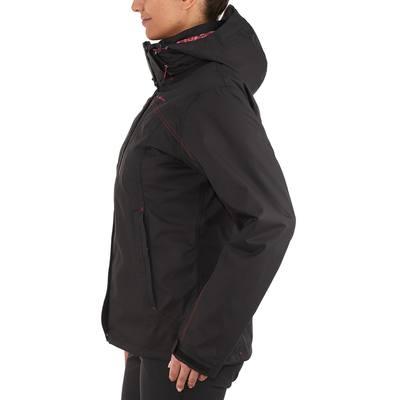 Veste Randonnée Femme RainWarm 300 3en1 Noir