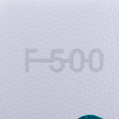 BALLON FOOTBALL F500 HYBRIDE TAILLE 4 BLANC