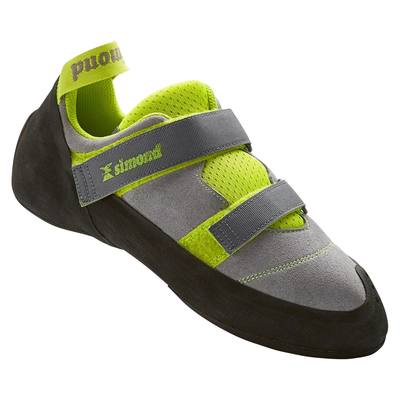 CHAUSSON D'ESCALADE ADULTE ROCK+ GRIS