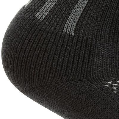 Chaussettes hautes football adulte F500 noir