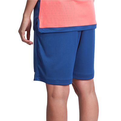 Short basketball femme B500 navy rose