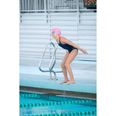 Kit complet natation pour fille bleu marine
