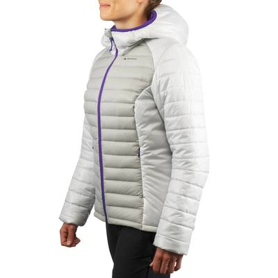 Doudoune trekking X-Light femme gris clair