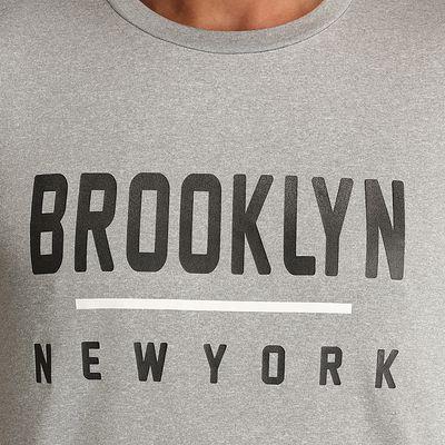 Tee shirt basketball homme Fast Brooklyn Gris