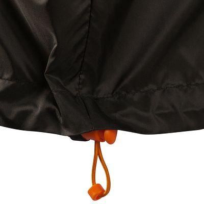 Coupe pluie Imperméable randonnée nature homme Raincut noir
